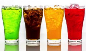 soda high sugar drinks