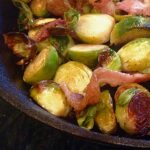 Pan-Roasted Brussels Sprouts & Bacon